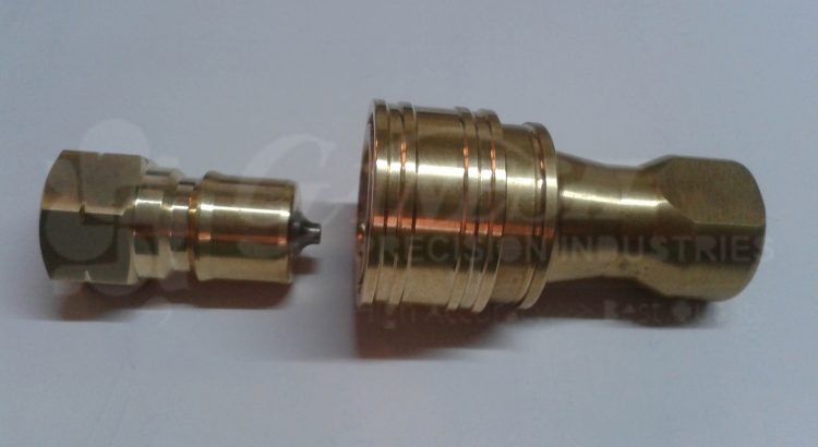 Brass-Coupler